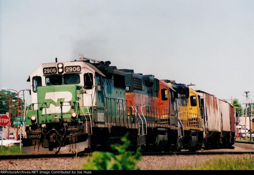 BNSF 2906 East