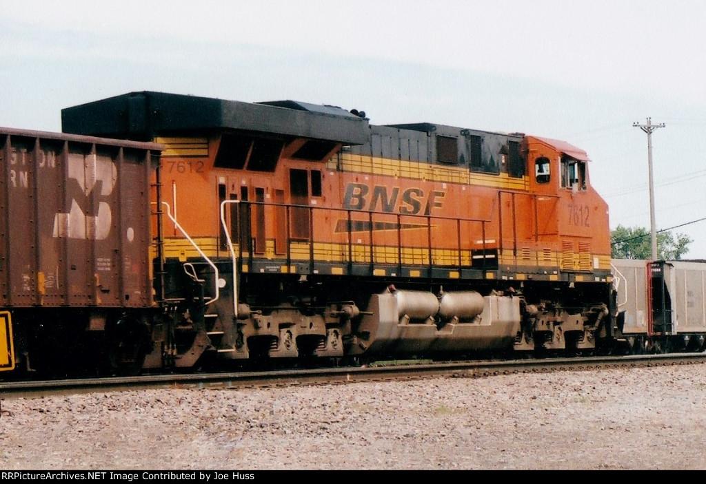 BNSF 7612 DPU