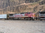 BNSF C40-8W 931