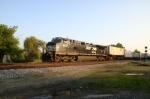 NS 9890 leads a mini-modal train