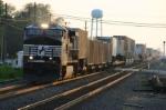 NS 9890 gets through town
