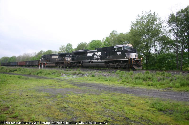NS 2718 leads empty gons