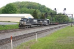 NS 9473 with loaded slab train