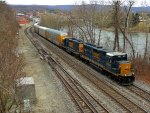 CSX 6529 and 2513