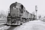 Train #1's power at Norwood Yard
