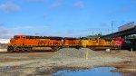 The two main railroads the go through the Alameda Corridor