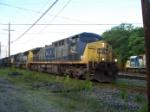 CSX 291 on Q142 Northbound