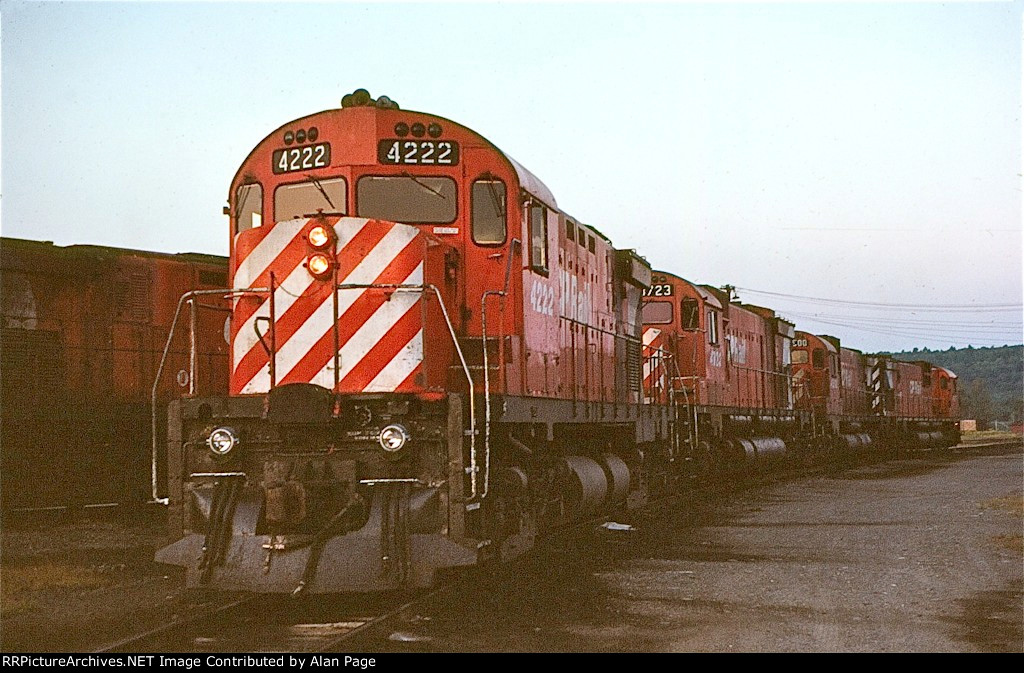 CP C424 4222, M636 4723, and C630M's 4500 and 4507 wait for assignment