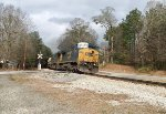 CSX 7792 and 114 lead a Department of Defense special