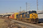 CSXT 3032 On CSX Q 143 Westbound