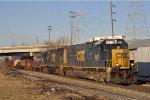 CSXT 8613 On CSX J 782 Westbound