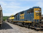 CSX, NYS&W, and NS power