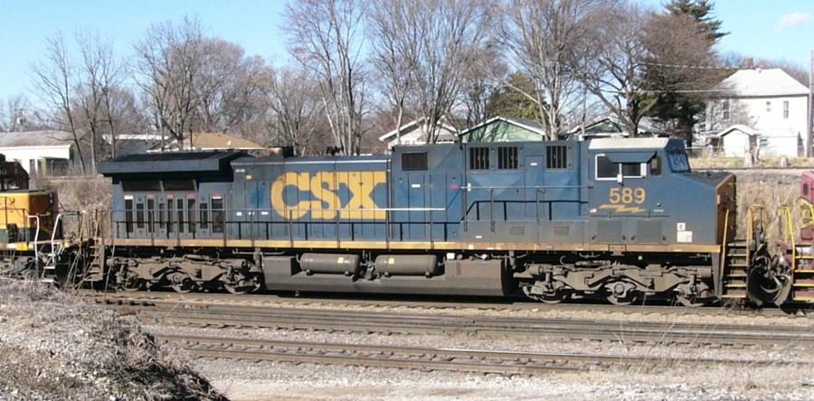 CSX 589