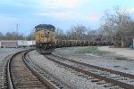 CSXT Rail Train Tied Down