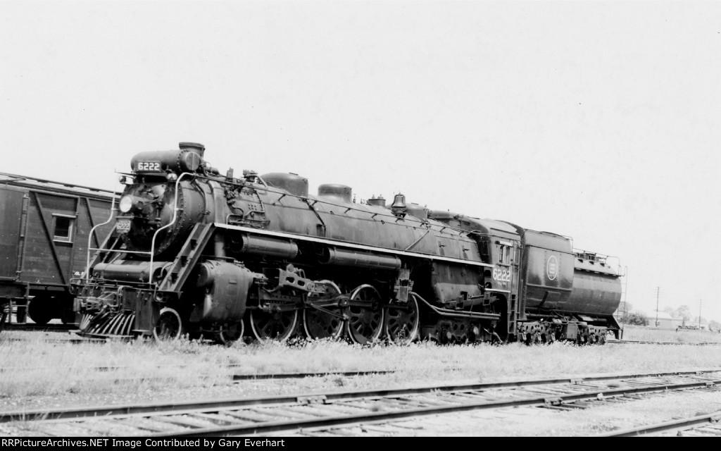 CN 4-8-4 #6222