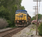 Troy, OH CSX 7730 southbound