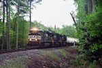 Norfolk Southern train 192 working east