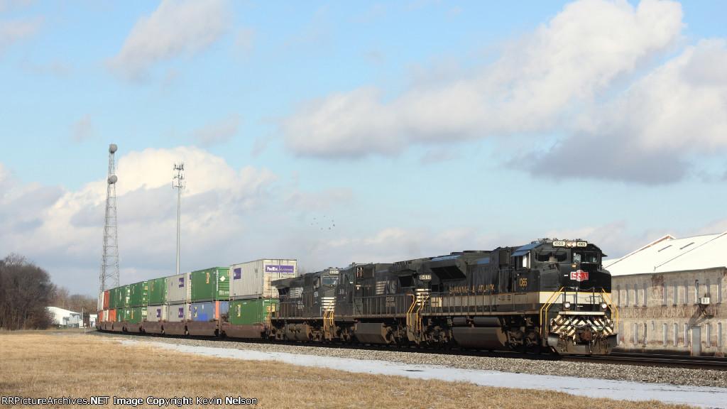 NS 1065 SD70ACe   Savanna and Atlanta