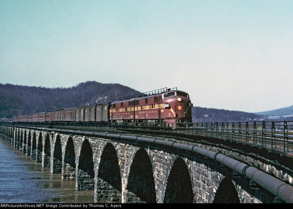 PRR 5850, EP-20, 1956