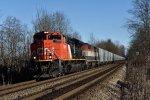 CN 8009 on CN G863