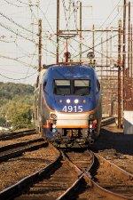MARC HHP-8 #4915 on Train No. 502