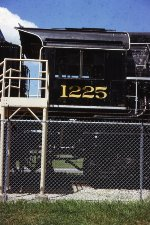 C&O 2-8-4 #1225 - ex-PM