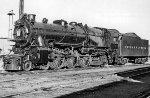 PRR 3750 into 1737, K-4S, 1956