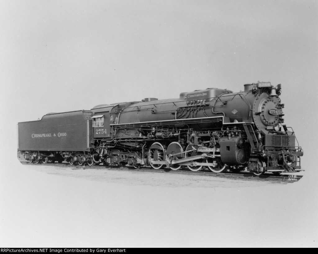 CO 2-8-4 #2754 - Chesapeake & Ohio