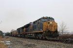 CSX 3256 leads a coal train