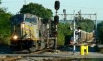 Swapping locomotives at Aragon, GA.