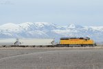 The Cache Valley Local (LUG-41C), led by UP SD-40N #2015, has just finished its work at Presto Products and is heading back to the rest of its train. Lewiston, UT. March 27, 2019