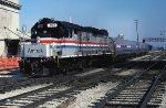 Amtrak w/b Loop