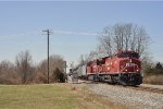 CP 8010 On CSX K 447 Northbound