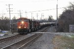 CN 2326 leads the way north for U261