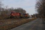 Three GEVO's from three railroads power CP's 241 west