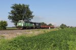 CBFX 6029 leads the way west with 39E