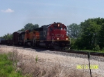 IC 6106, BNSF 504, & CN 6900