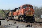 BNSF 8769 Coal Train DPUs