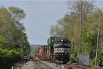 NS 9468 On NS 200 Westbound At New River Jct