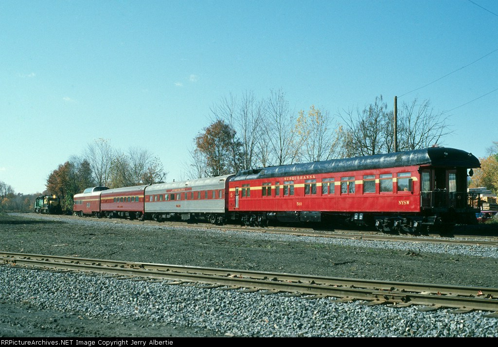 NYSW inspection train, Conrail symbol SPL-111