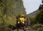 NYSW 3012 rolls west of Callicoon