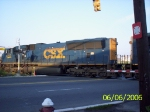 With CSX 4702 trailing