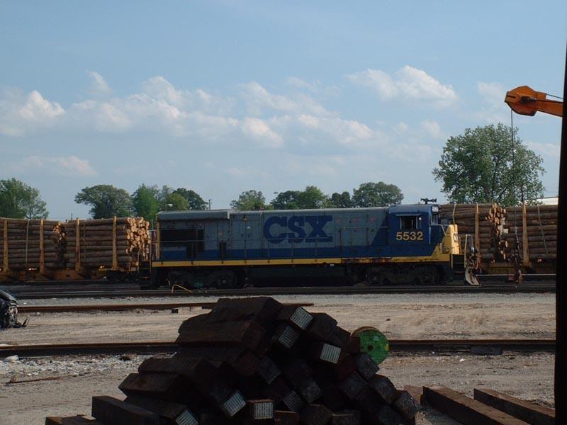 CSX 5532 in Tilford Yd