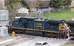 CSX 7332 passing through Richmond Hill