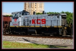 KCS 4343 - A gray butt head.