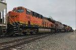 BNSF 7865 & CP 9716