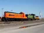 BNSF 1213 & 3433