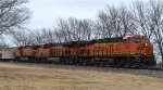 BNSF 8027, 7163 and 4643