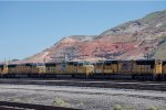 Stored Locos and Red Rocks
