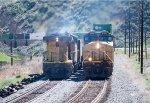 Coal meets Stacks in Echo Canyon
